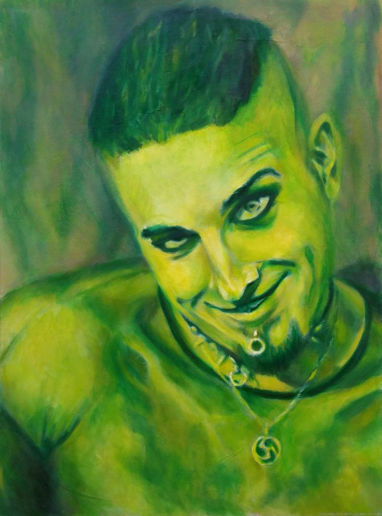 Green Man by Amber R. Powers