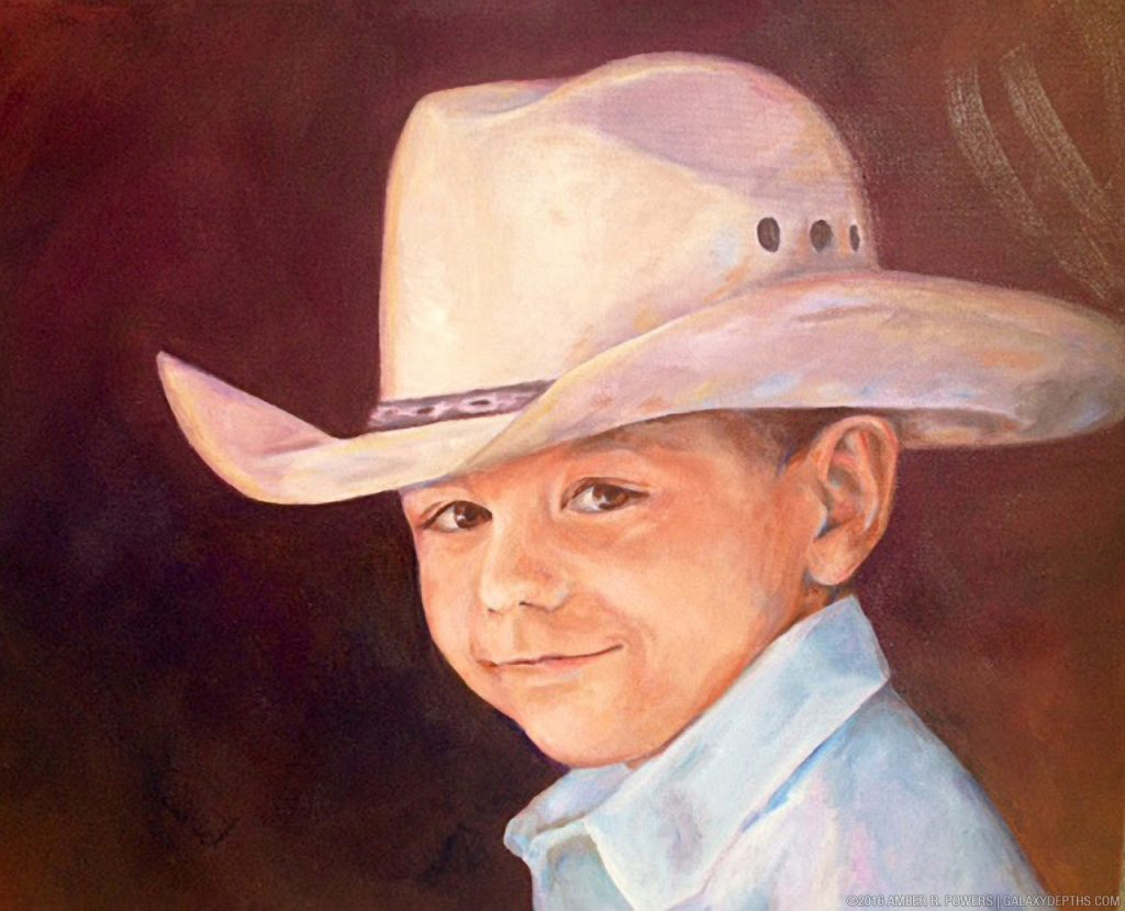 Little Cowboy by Amber R. Powers