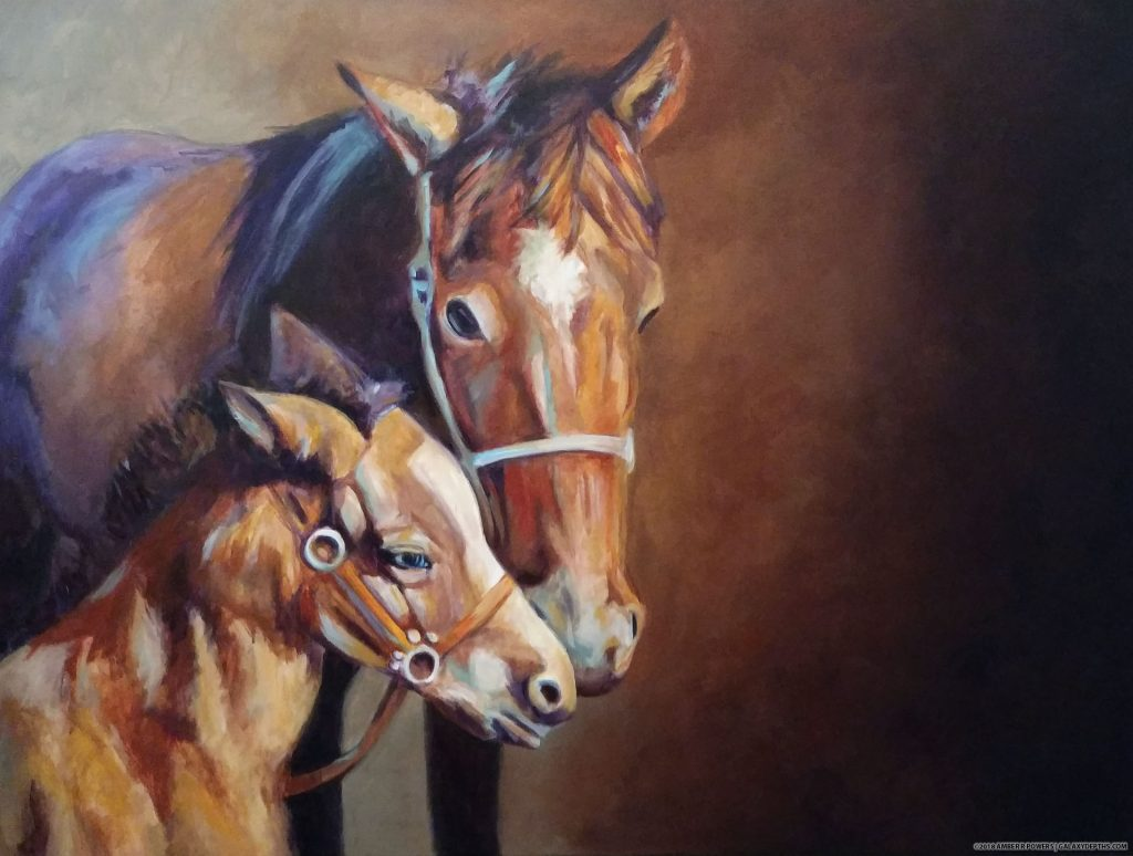 Stephanie's Horses by Amber R. Powers